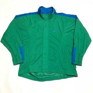 Vintage Nike F.I.T. grey tag Windbreaker jacket
